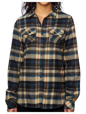 Burnside Geruit overhemd dames  in 5 kleuren
