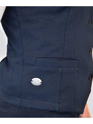 Company Fits Damesgilet Pisa blauw