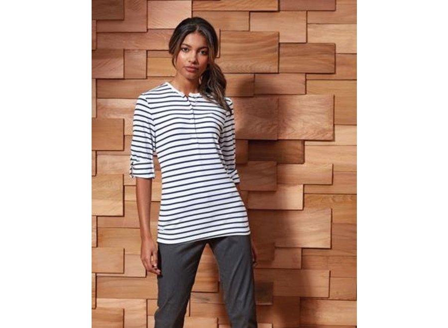Shirt dames Long-John Roll in 5 kleuren