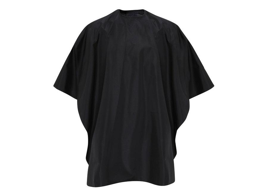 Kappersmantel in grijs of zwart van logo te voorzien