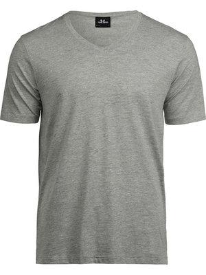 Teejays T-shirt heren organic v-hals in 4 kleuren