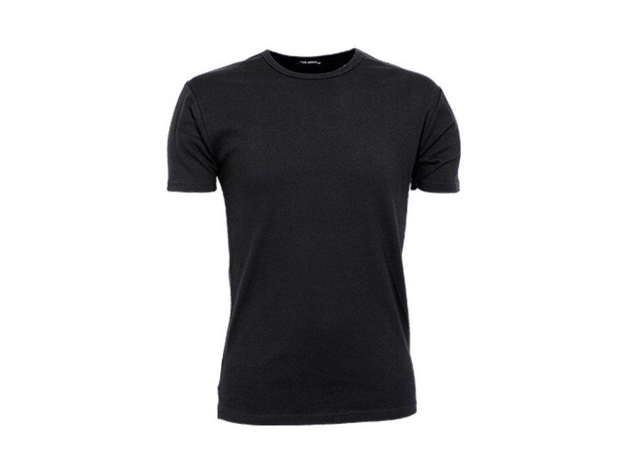 Heren t-shirt  - 60º wasbaar  - zwart wit