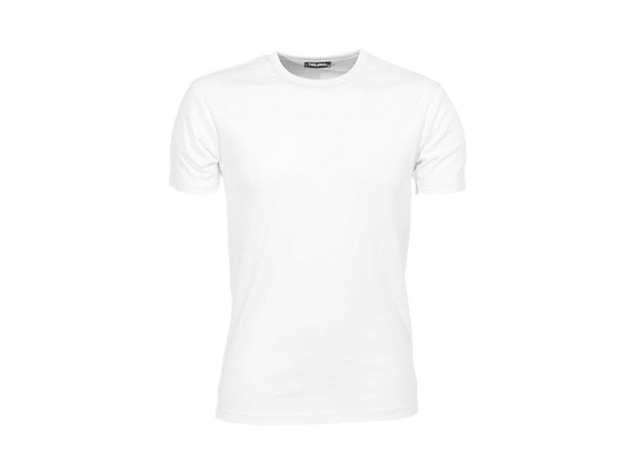 Heren t-shirt - zwart of wit - 60º wasbaar