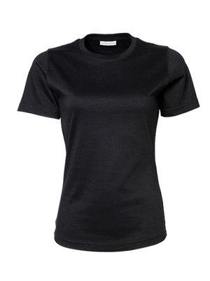 Teejays Dames t-shirt  zwart of wit,  60º wasbaar
