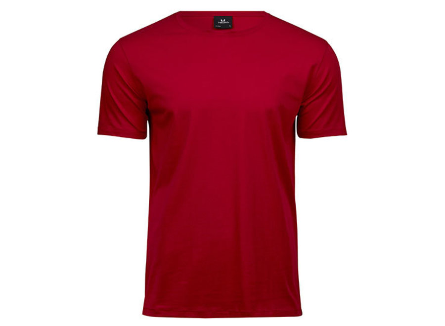 Luxe t-shirt met stretch, biologisch katoen