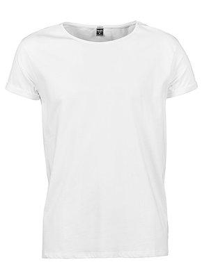 Teejays T-shirt roll up mouw heren  organic cotton in 3 kleuren
