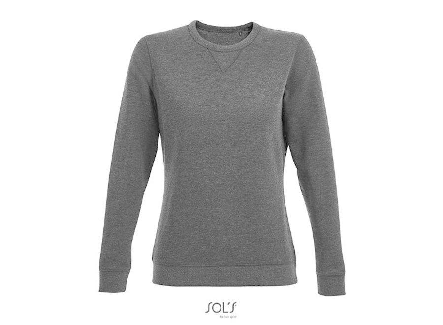 Sweatshirt dames urban melange