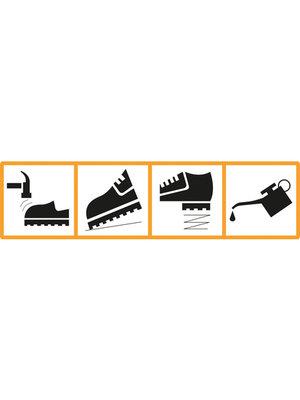 WORK-GUARD Waterdichte schoen - Duurzame Hicks Safety Trainer