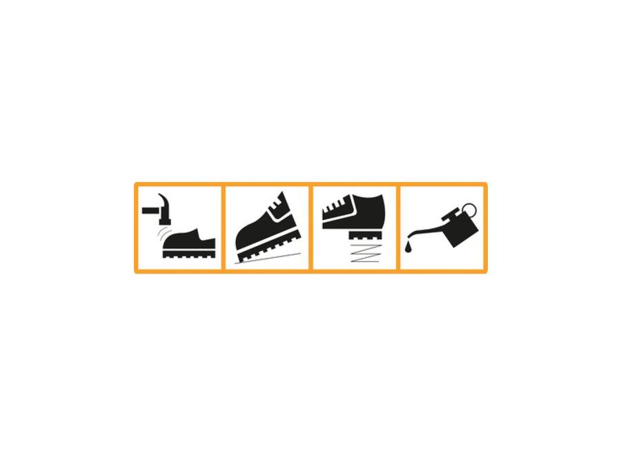 Waterdichte schoen - Duurzame Hicks Safety Trainer