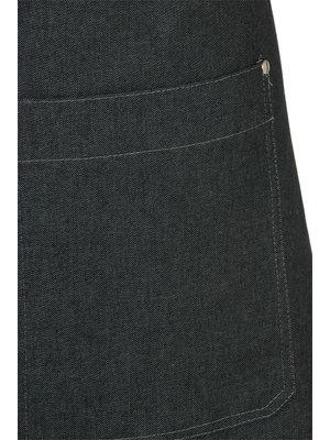 Schriks Sloof denim met zak dubbel gestikt L50 B90