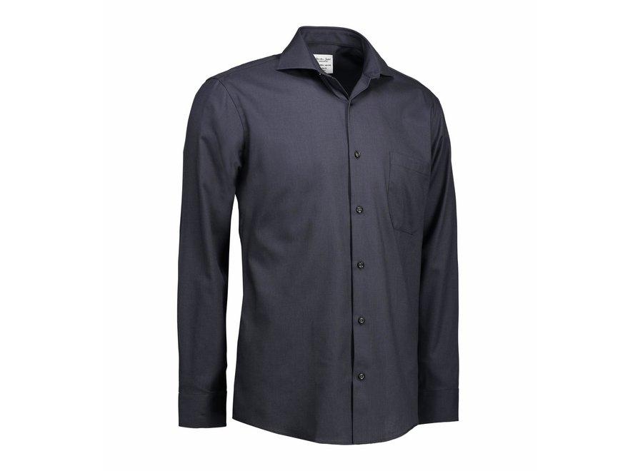 Non Iron Heren overhemd - Dobby - Modern Fit of Slim Fit in 4 kleuren