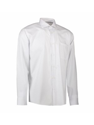 ID Identity Non Iron Heren overhemd - geruit - Modern Fit of Slim Fit