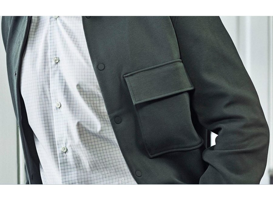 Non Iron Heren overhemd - geruit - Modern Fit of Slim Fit
