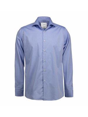 ID Identity Non Iron Heren  overhemd - Fine Twill - Modern Fit of Slim Fit in 5 kleuren