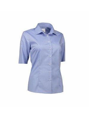 ID Identity Non Iron Dames blouse -  short sleeve - Modern Fit in 3 kleuren