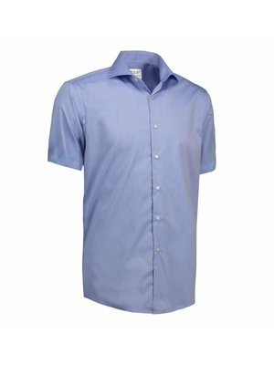 ID Identity Non Iron Heren overhemd  -  short sleeve - Modern Fit in 3 kleuren