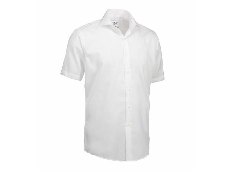 Non Iron Heren overhemd  -  short sleeve - Modern Fit in 3 kleuren