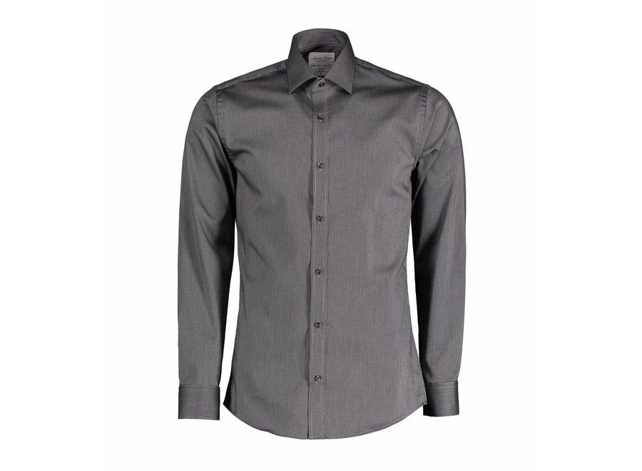 Non Iron Heren overhemd - California Fine Twill - Modern Fit of Slim Fit