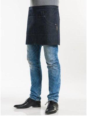"Chaud Devant Korte Sloof Blue Denim Multipocket 16"" W90 - L40"