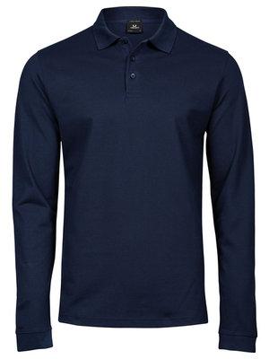 Teejays Luxury Stretch Long Sleeve Polo heren in 3 kleuren