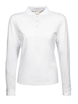 Teejays Luxury Stretch Long Sleeve Polo dames in 3 kleuren