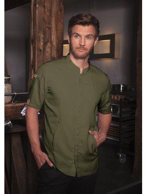 Karlowsky Green generation Short sleeve Chef jacket