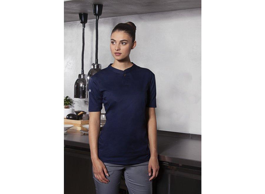 Performance Short sleeve work shirt - dames