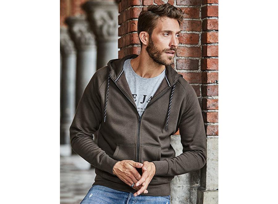 Hoge kwaliteit heren hoodie met rits in 6 kleuren