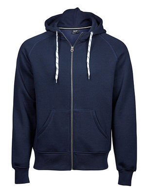 Teejays Hoge kwaliteit heren hoodie met rits in 6 kleuren
