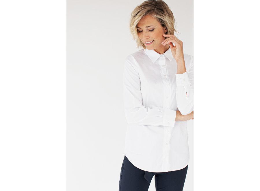 Groningen poplin blouse