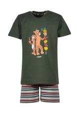 Woody Jongenspyjama panter