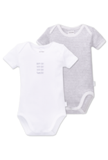 Schiesser Baby Bodies 2-pack korte mouw multi-color