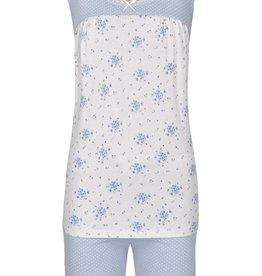 Ringella Ringella pyjama, mouwloos met shorty, blue