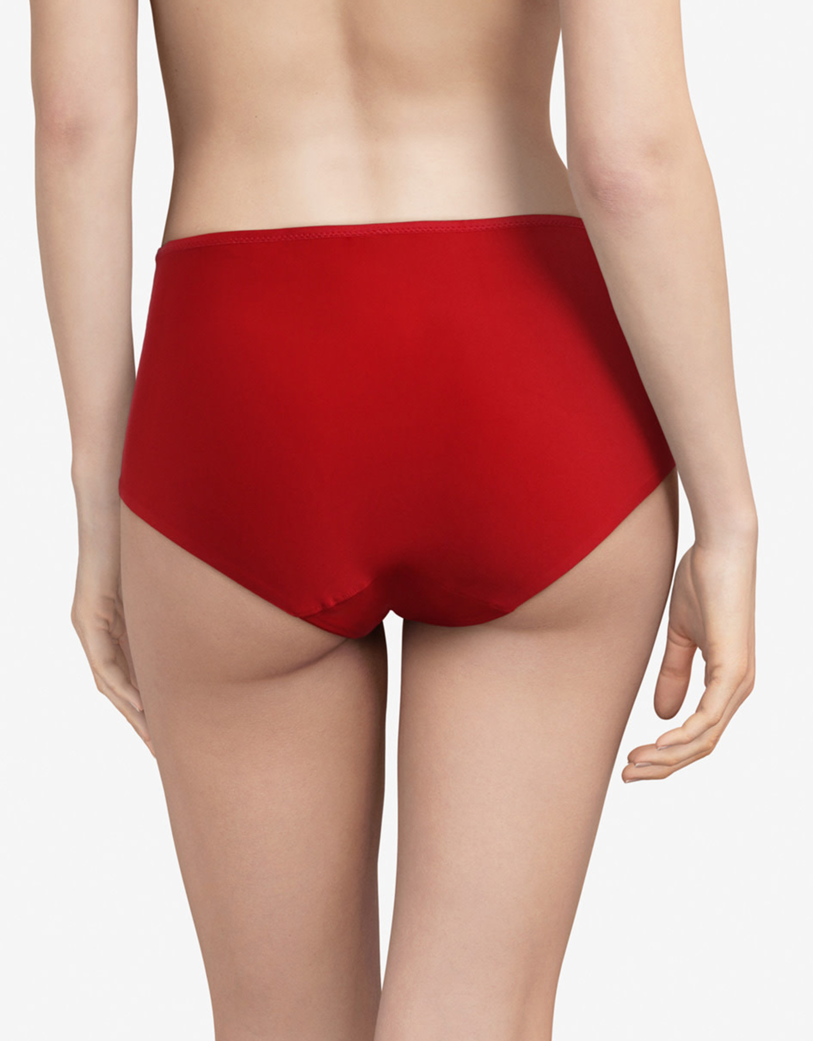 Chantelle Pyramide hoge taille, Poppy Red