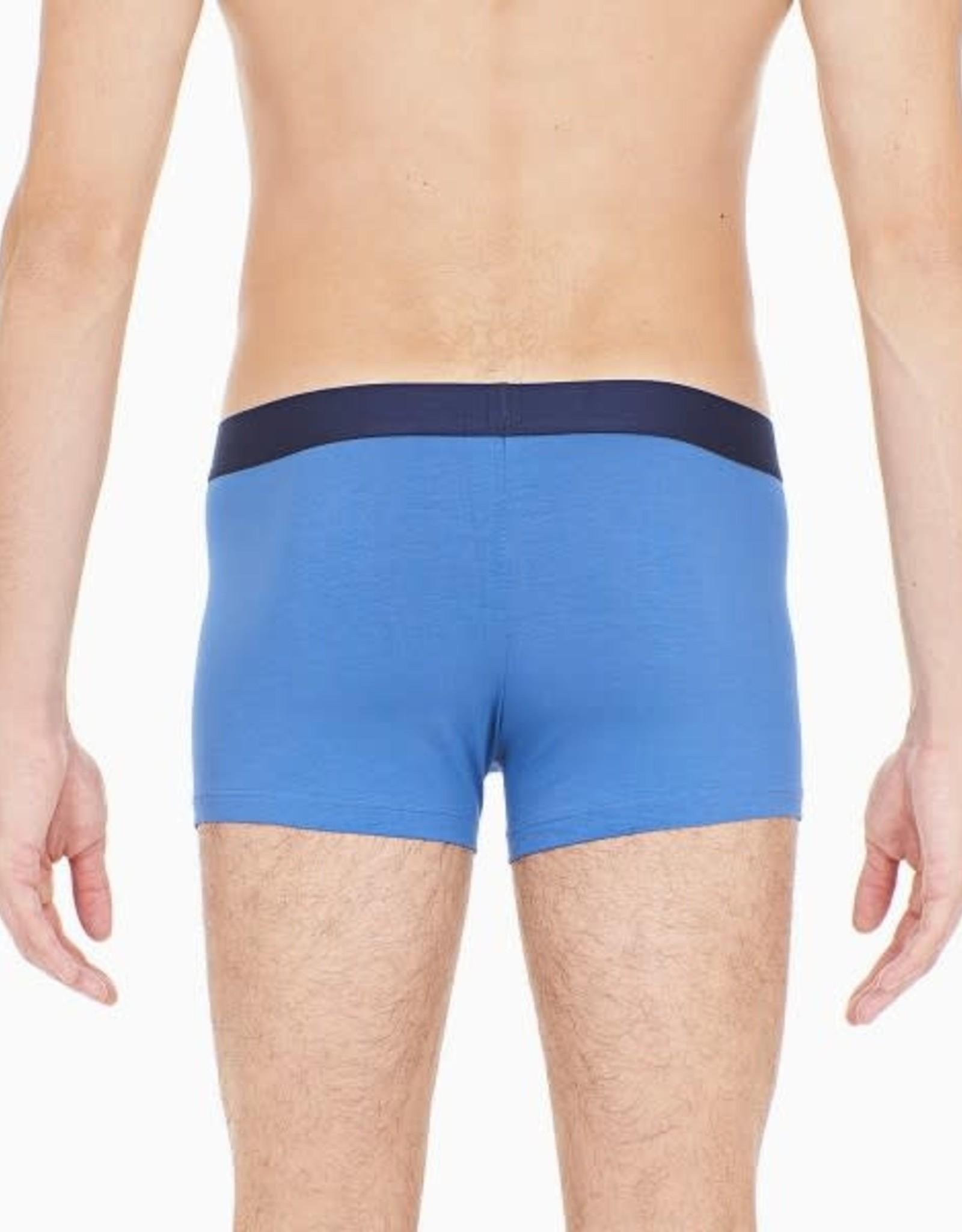 HOM Boxer Briefs 2P - Colorful 2, navt-blue