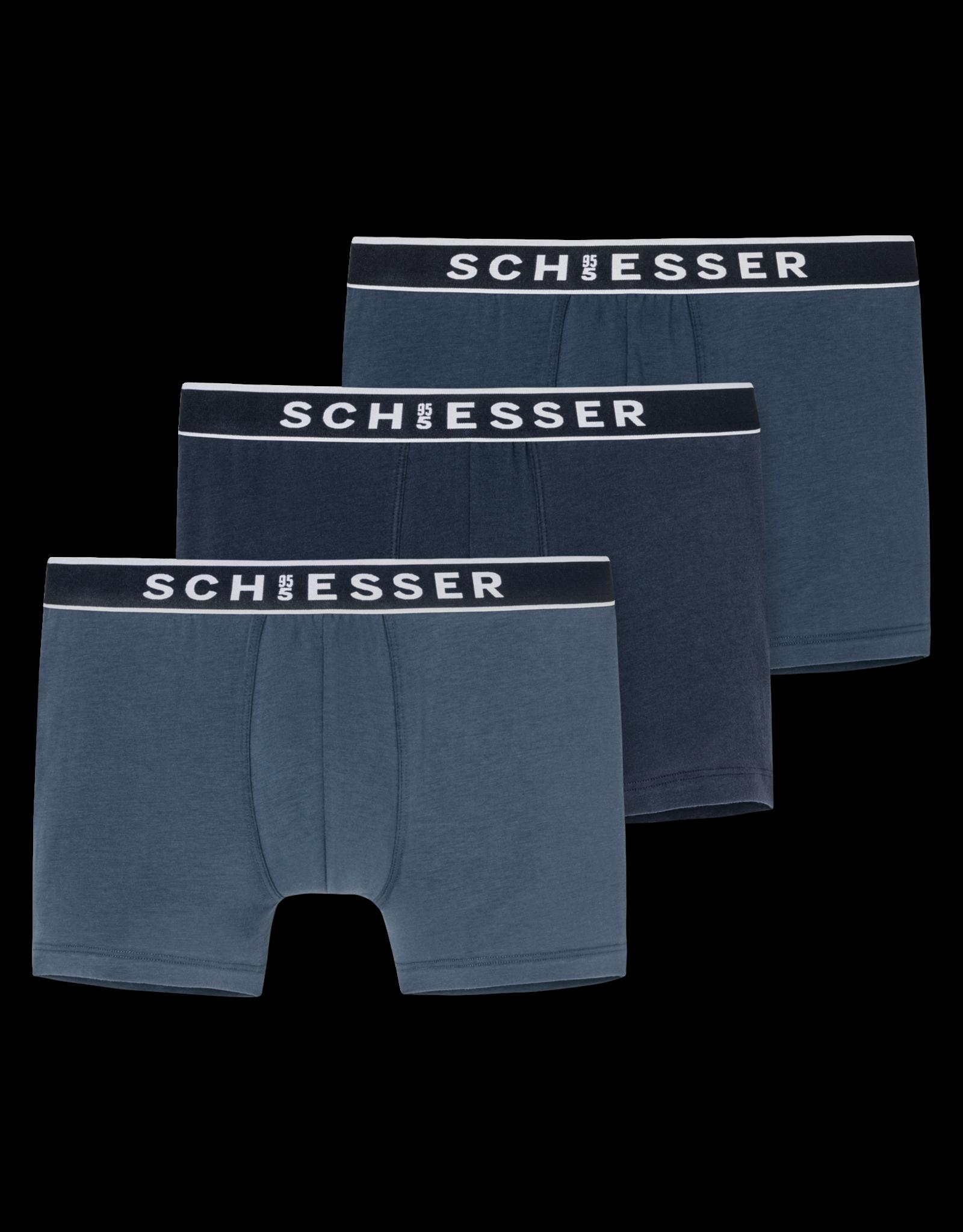 Schiesser Heren Shorts 3-P, 170959-901