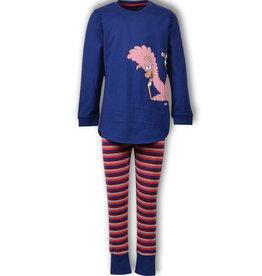 Woody Meisjespyjama Alpaca
