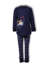 Woody Meisjespyjama Dodo, dark blue