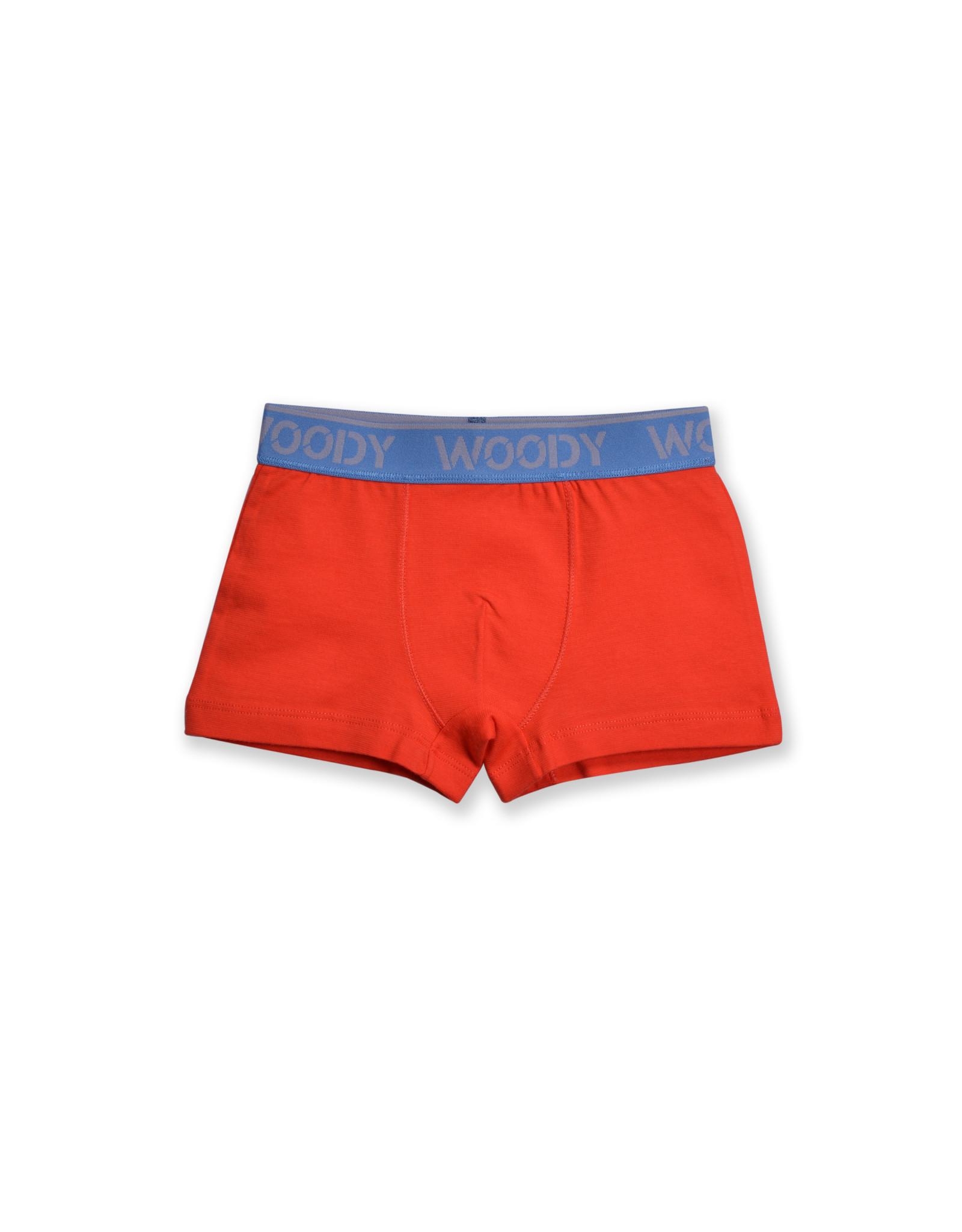 Woody Jongens short, coral