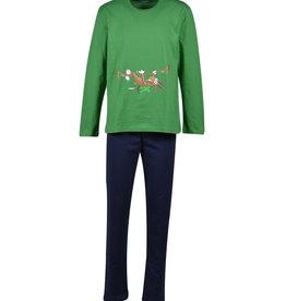 Woody Jongens pyjama, woudgroen