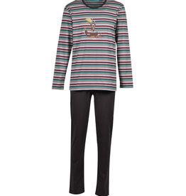 Woody Herenpyjama multicolor
