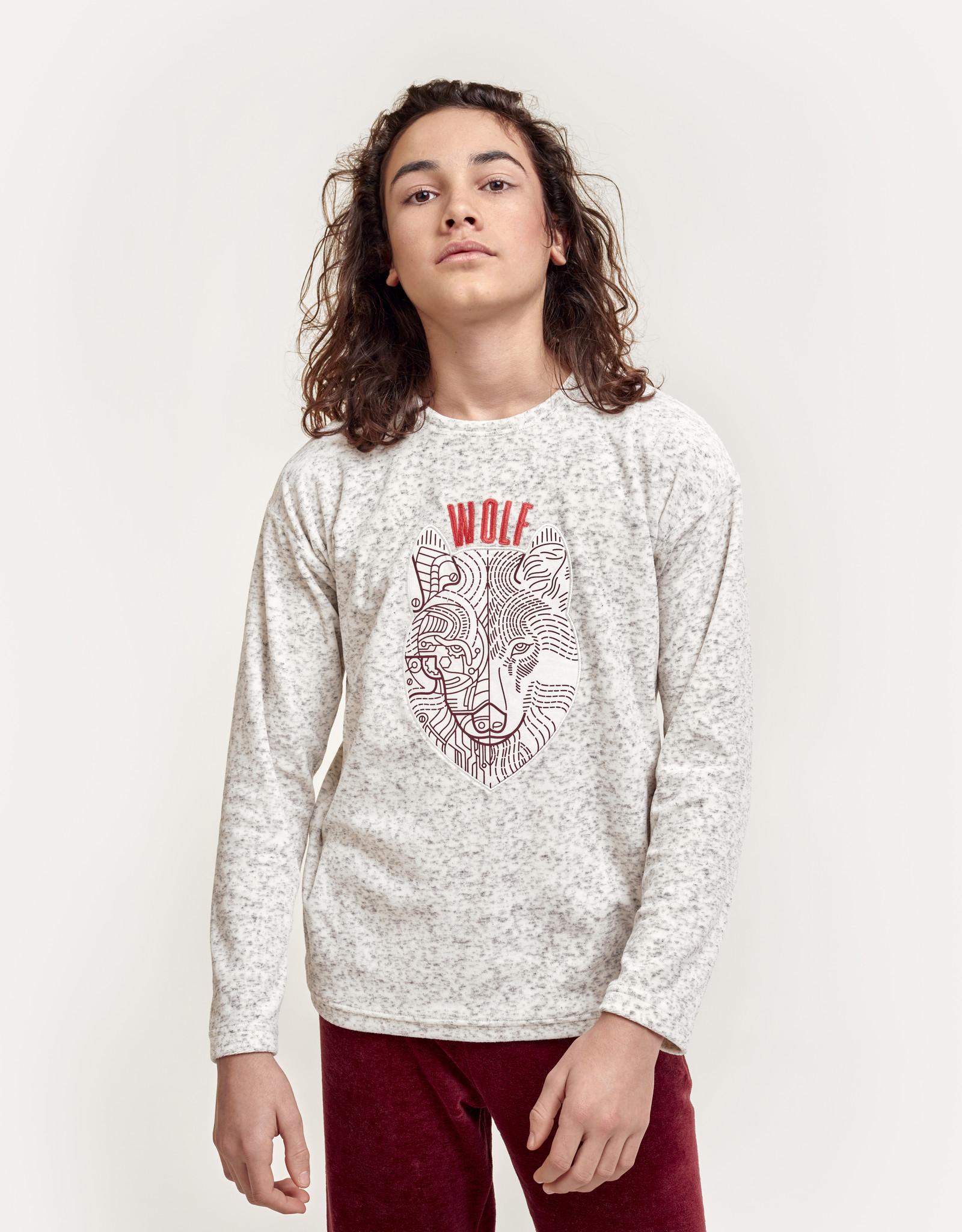 Woody Jongens pyjama Wolf