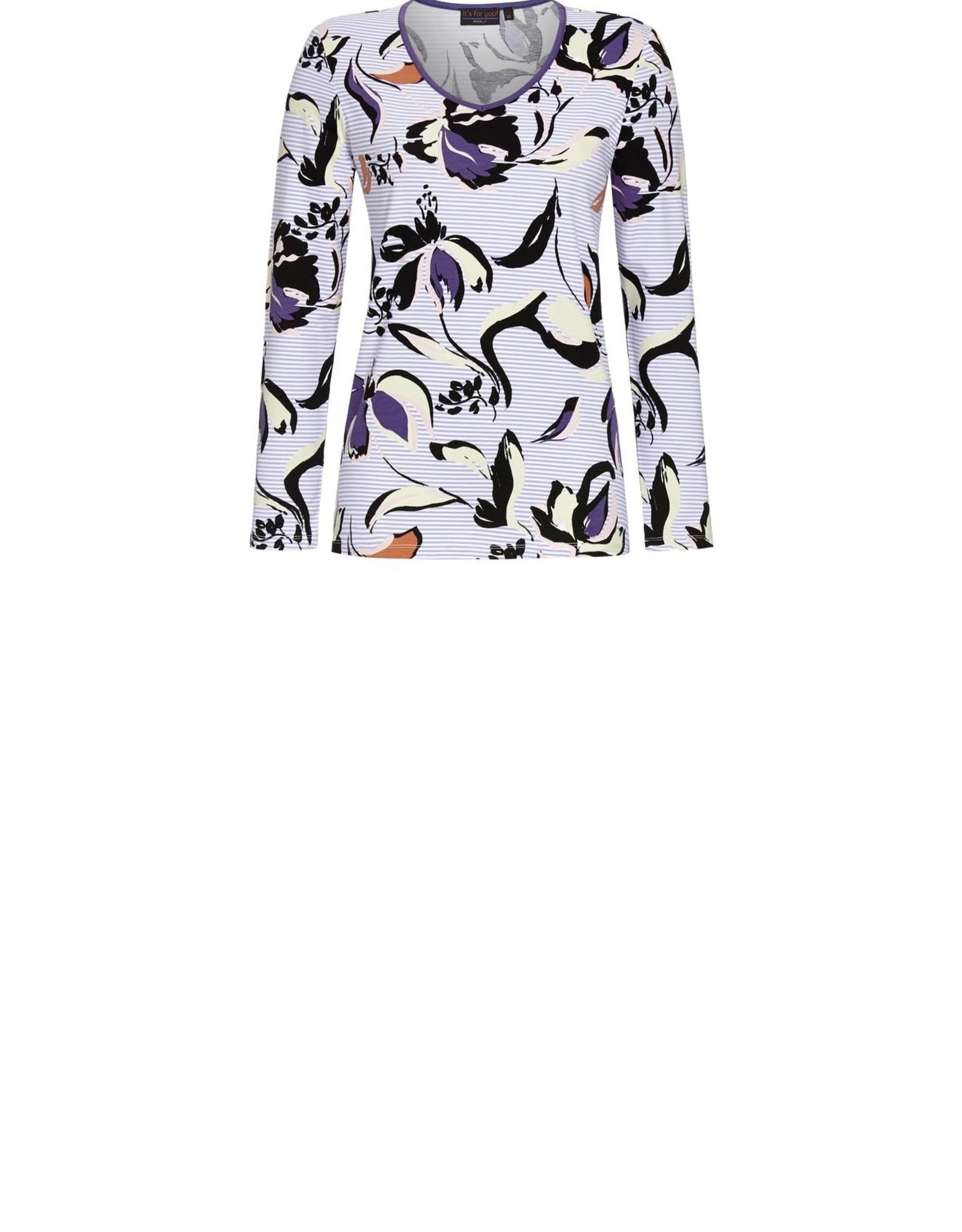 Ringella Pyjama met bloemen