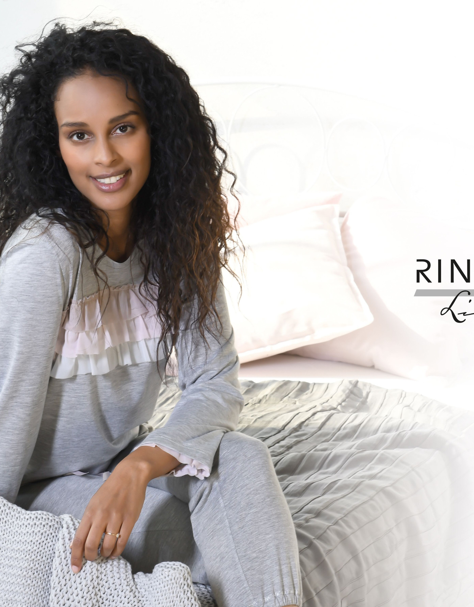 Ringella Pyjama met rusches