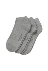 Schiesser Cotton sneaker socks, grey