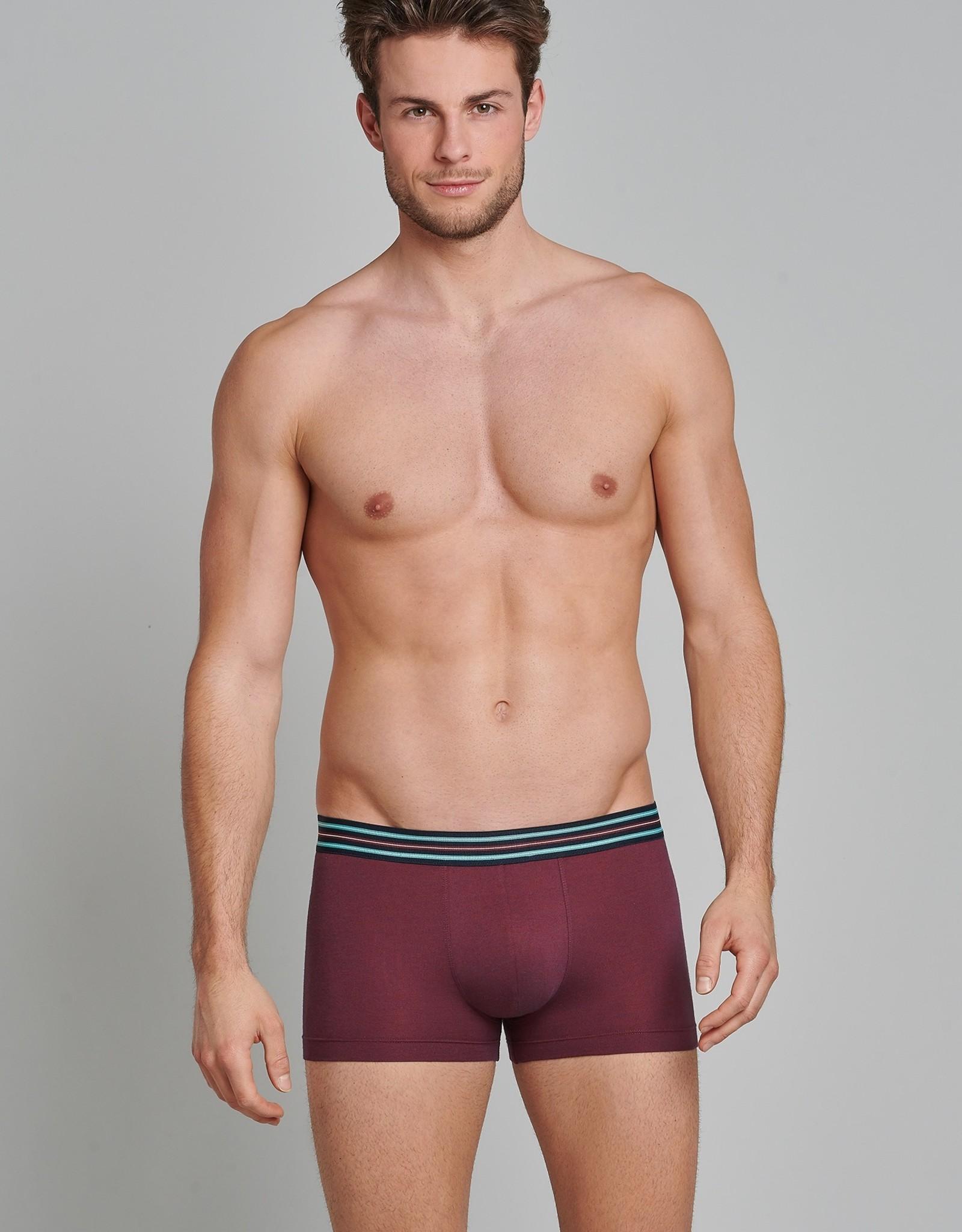 Schiesser Shorts, bordeaux