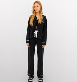 Lords & Lillies Damespyjama, zwart