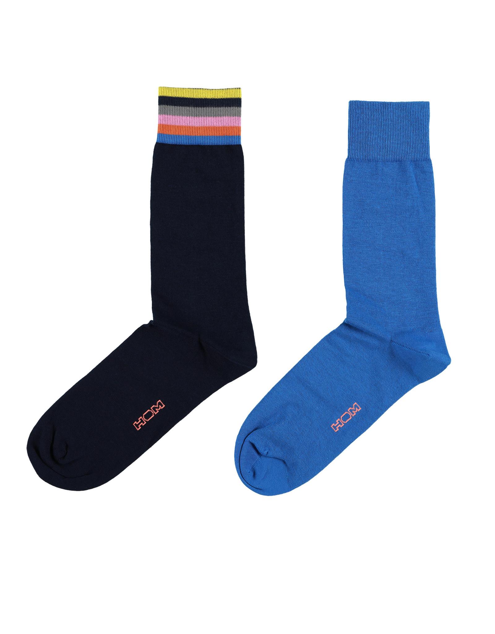 HOM Socks 2P, Ocean