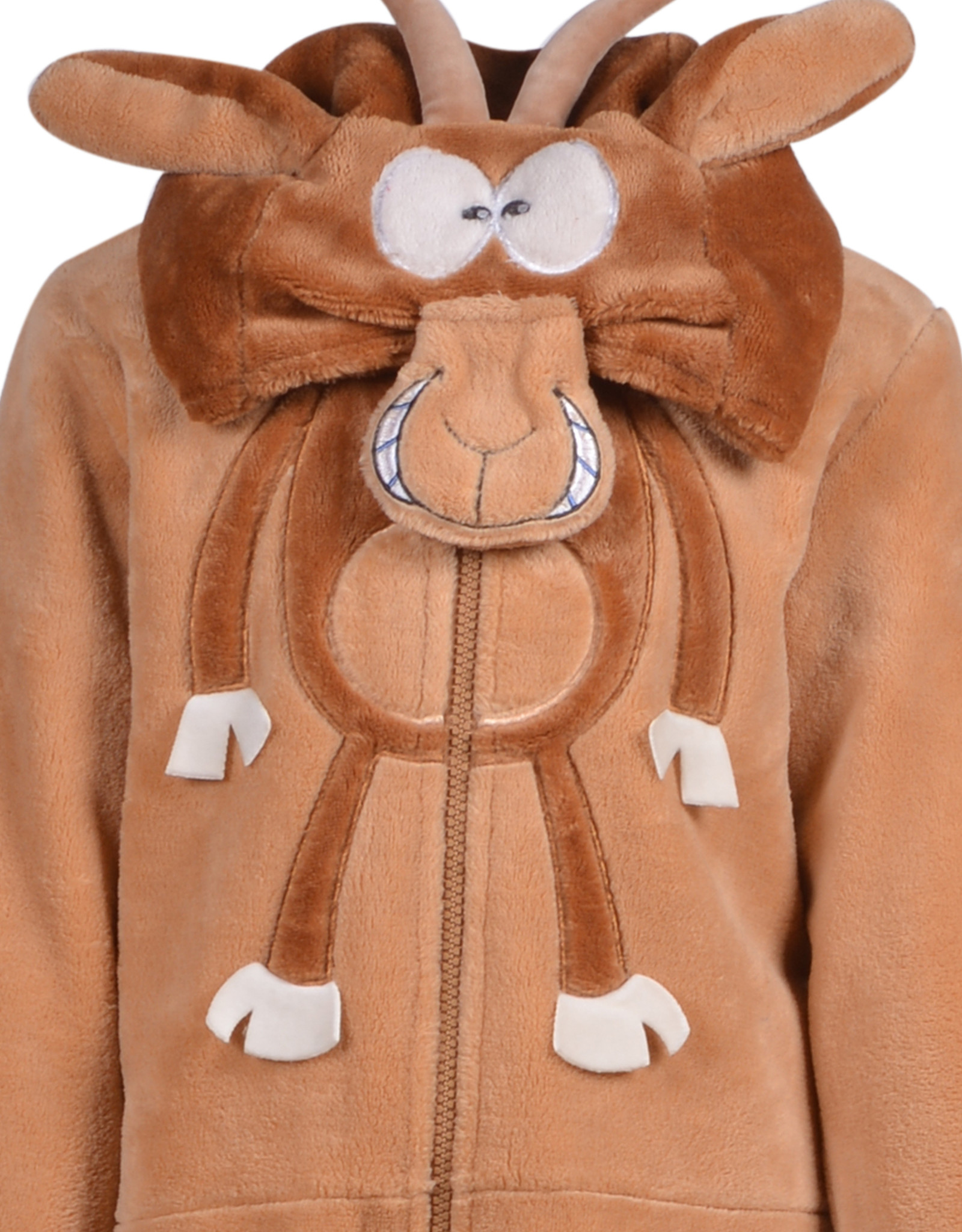 Woody Unisex onesie, zandbruin