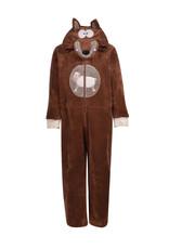 Woody Unisex onesie, donkerbruin